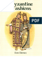 Byzantine Fashions - Dover Coloring Book