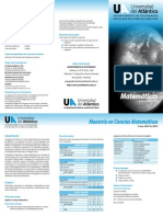 UA Cienciasmatematicas