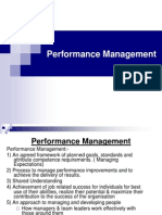 Performance Mangement