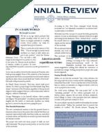 Centennial Review - February 2013