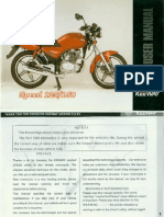 Manual Usuario Keeway Speed 125-150 CC (Idioma Ingles)