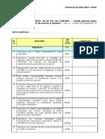 Chestionar Audit Intern_MODEL