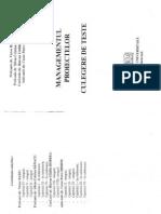 Carte Managementul Proiectelor