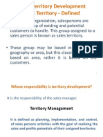 Territory Development and Time Management