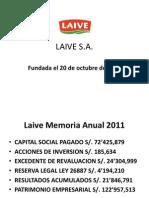 LAIVE SA