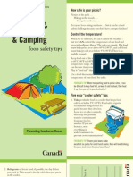 Picnicking, Hiking & Camping Food Safety Tip