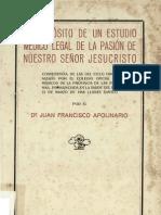 Apolinario Juan F - Estudio Medico Pasion de Cristo