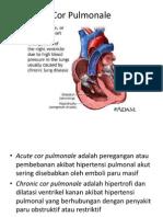 penyakit kelainan jantung ( cor pulmonale )