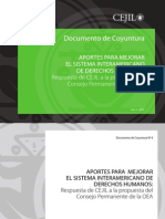 Documento de Coyuntura Nº 6 Fortalecimiento del SIDH