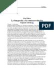 Marx Karl - La Burguesia Y La Contrarevolucion
