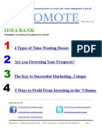 Promote, a monthly newsletter from EDAC