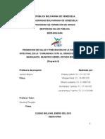 Prevención de la parasitosis Intestinal