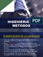 Clase 7 Planificaciòn de la Capacidad Ing. de Metodos I