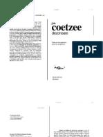 COETZEE, John Dezonoare
