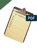 Check List - Máquina de Solda