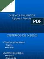 DISEÑO DE PAVIMENTOS RIGIDOS Y FLEXIBLES