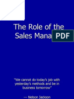 2Role of Sales Manager Final