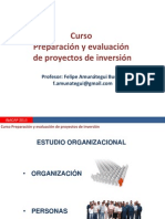EVAL PROY Estudio Organizacional y Legal