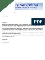 Serra Letter