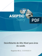 Apresentação Aseptic Sany