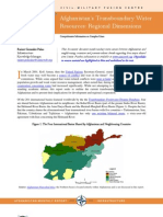 Afghanistan's Transboundary Water Resources