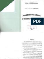 Curs geologie aplicata - Eugeniu Marchidanu