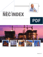 NEC 2011 INDEX