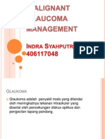 Malignant Glaucoma Diagnosis and Management
