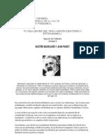 Bachelard y Piaget