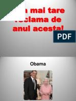 ! RECLAMA ANULUI 2012.ppsx