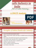 Handicrafts Industry in India Swot Analysis by Priyanshu