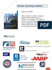 Transportation for America MAP-21 presentation (February 4, 2013)