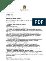 LEGEA cu privire la POLITIA DE FRONTIERA.doc