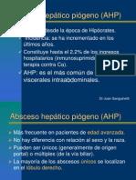 Absceso Heptico Dr Sanguinetti