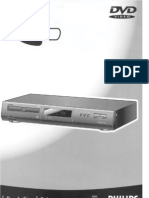 Philips User Manual Dvd Player 711 for Philips 711 Dvd Player