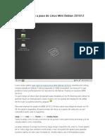 Instalación paso a paso de Linux Mint Debian