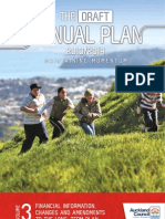 Volume Three of the Draft Annual Plan