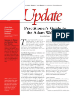 Practitioner's Guide to the Adam Walsh Act