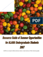 Summer Opportunities for Undergrads