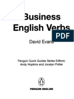 business english verbs