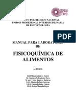 Manual de Fisicoq. de Alim.