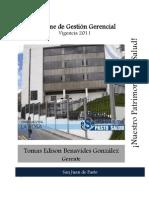 Informe Gestion Pasto Salud 2011