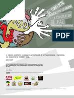 Cuaderno Paz Transformadora (Colombia, 2012)