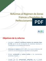 Reformas Zonas francas