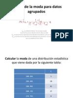 Cálculo de la moda y mediana para datos agrupados (2)