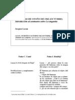 Jornadas sobre el fantasma, Sociedad Francesa de Psicoanálisis