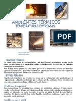 ambientes termicos