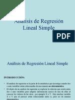 Ejemplo de Regresion Lineal