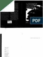 VILLASEÑOR, Elio, 2006, La sociedad civil como actor de interes publico, pp. 313-323.PDF