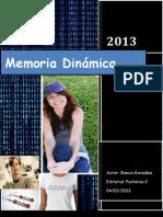 memoria dinamica revista Bianca González